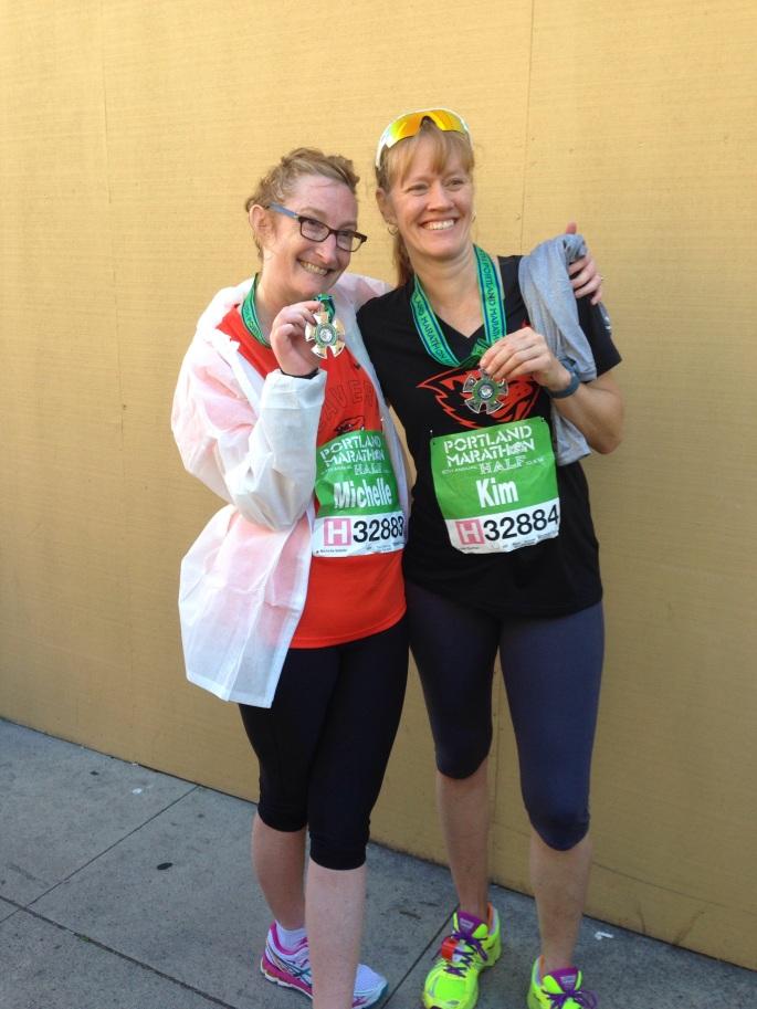 Michelle, Kim, Marathon